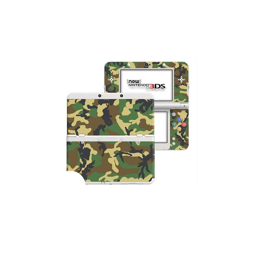 Camouflage New Nintendo 3DS Skin