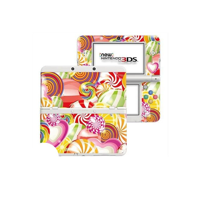 Candy New Nintendo 3DS Skin