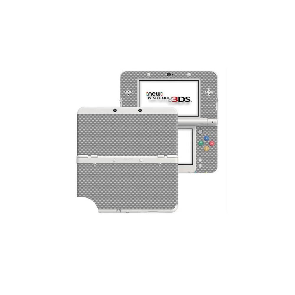Carbon Grijs New Nintendo 3DS Skin
