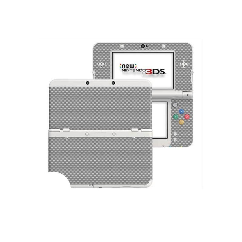 Carbon Grijs New Nintendo 3DS Skin