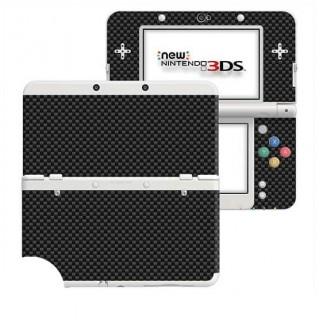 Carbon Zwart New Nintendo 3DS Skin