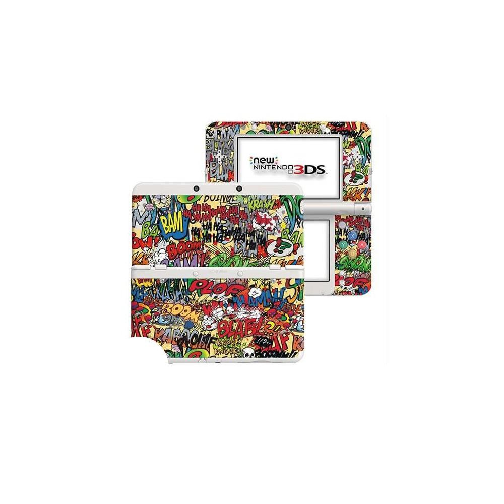 Cartoon SFX New Nintendo 3DS Skin