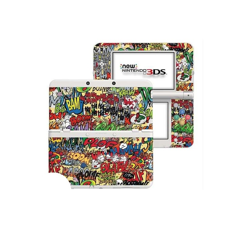 Cartoon SFX New Nintendo 3DS Skin