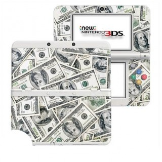 Dollars New Nintendo 3DS Skin
