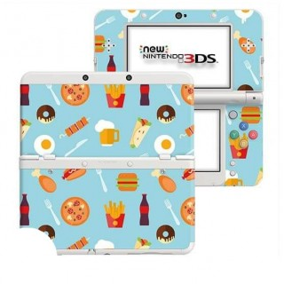 Fastfood New Nintendo 3DS Skin