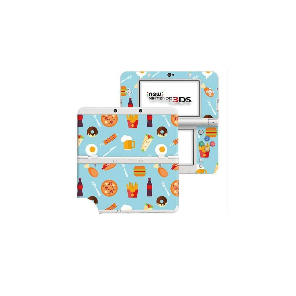 Fastfood New Nintendo 3DS Skin