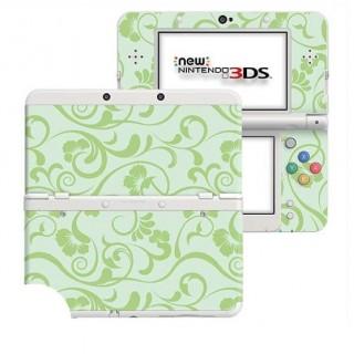 Floral Groen New Nintendo 3DS Skin