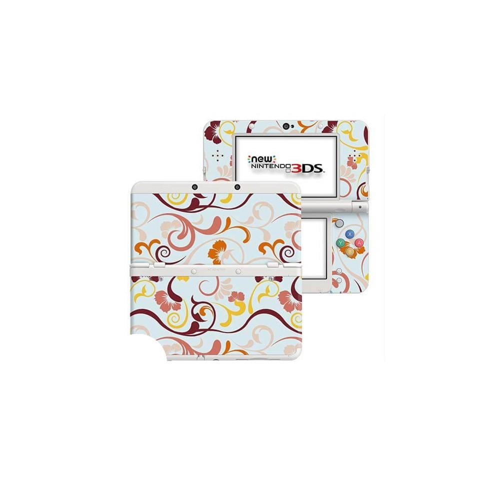 Floral Retro New Nintendo 3DS Skin