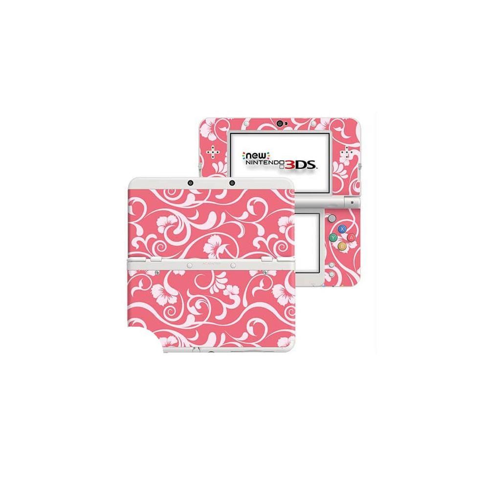 Floral Roze New Nintendo 3DS Skin