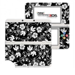 Gothic Floral New Nintendo 3DS Skin