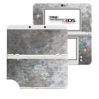 Grunge Metal New Nintendo 3DS Skin