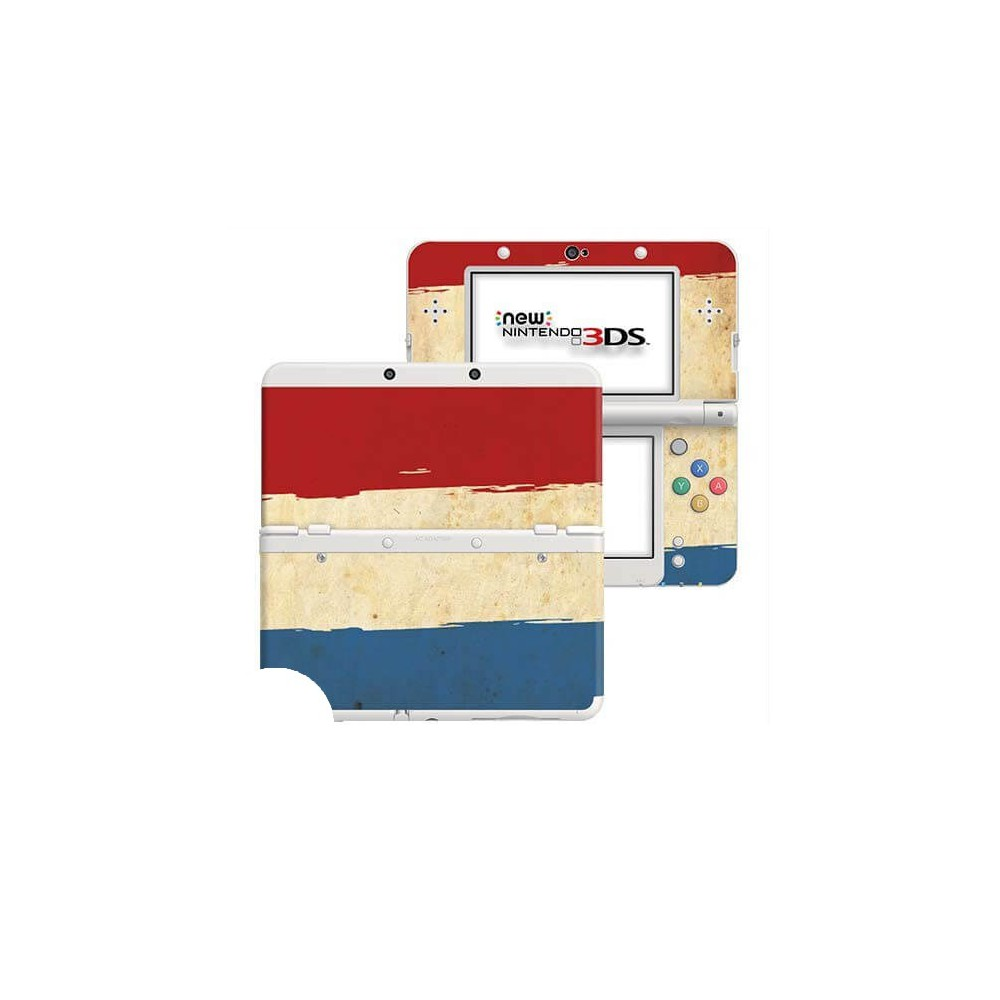 Grunge Vlag New Nintendo 3DS Skin