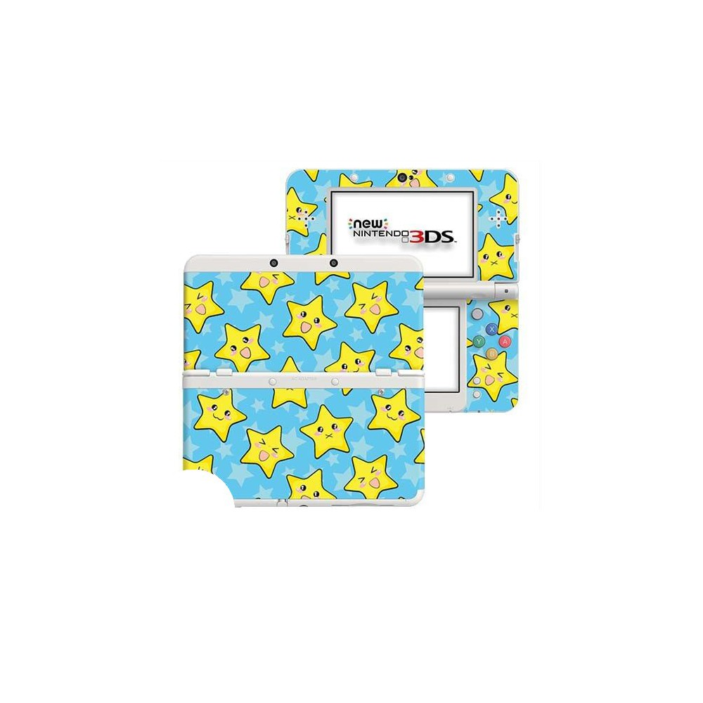 Happy Stars New Nintendo 3DS Skin