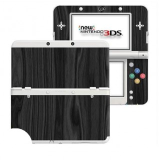 Hout Charcoal New Nintendo 3DS Skin