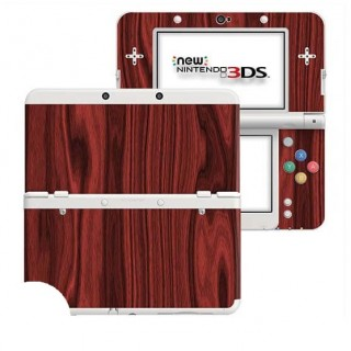 Hout Rosewood New Nintendo 3DS Skin
