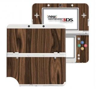 Hout Walnut New Nintendo 3DS Skin