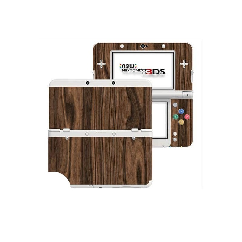 Hout Walnut New Nintendo 3DS Skin
