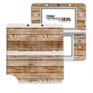 Houten Planken New Nintendo 3DS Skin