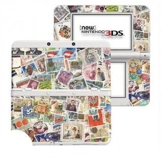 Postzegels New Nintendo 3DS Skin