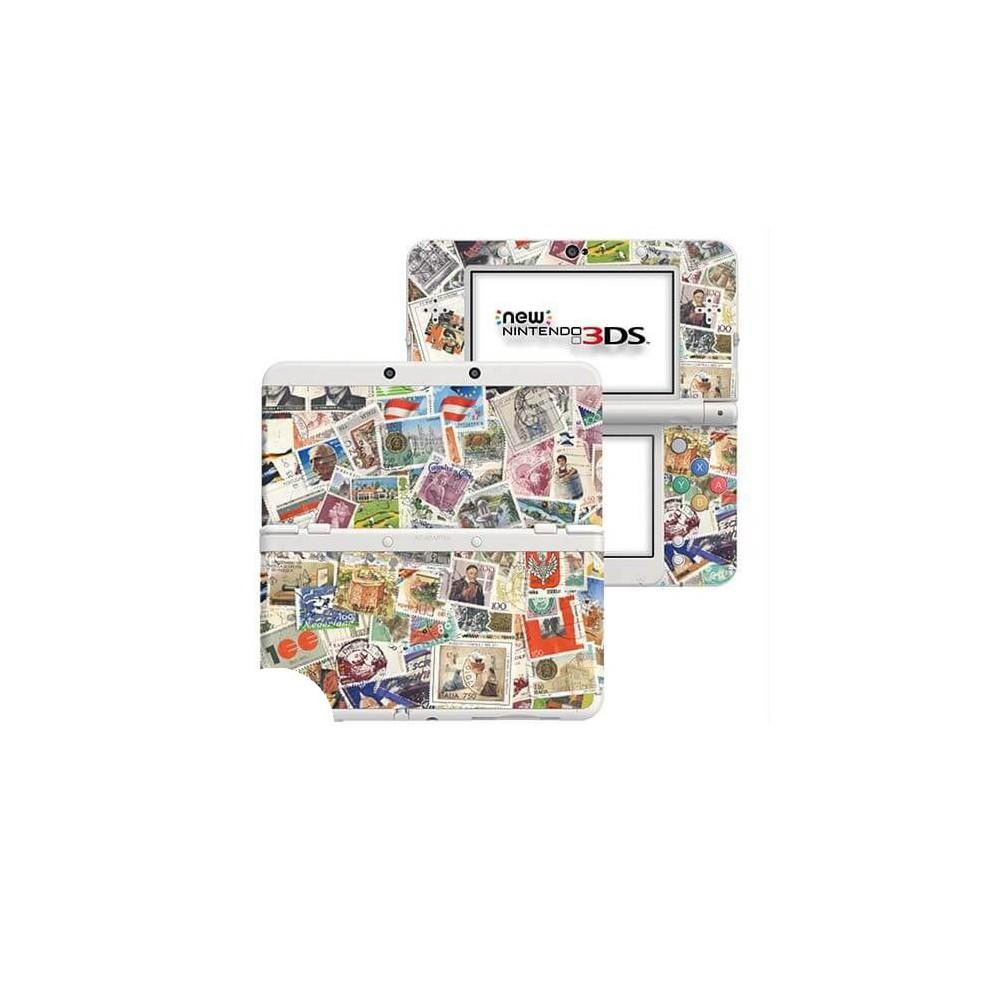 Postzegels New Nintendo 3DS Skin
