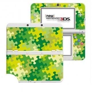 Puzzel Groen New Nintendo 3DS Skin