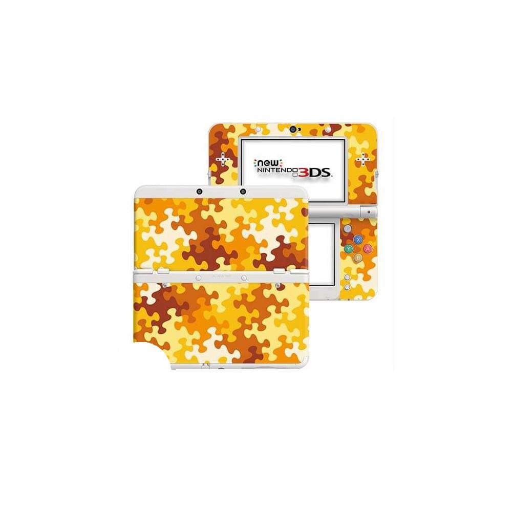 Puzzel Oranje New Nintendo 3DS Skin