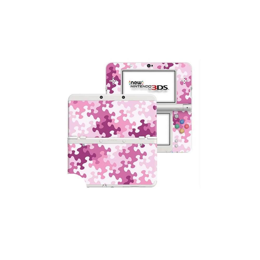 Puzzel Roze New Nintendo 3DS Skin