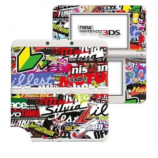 Stickerbomb New Nintendo 3DS Skin