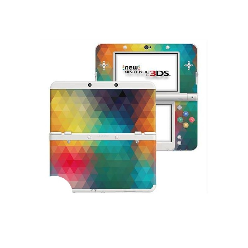 Triangles New Nintendo 3DS Skin