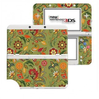 Wilde Bloemen New Nintendo 3DS Skin