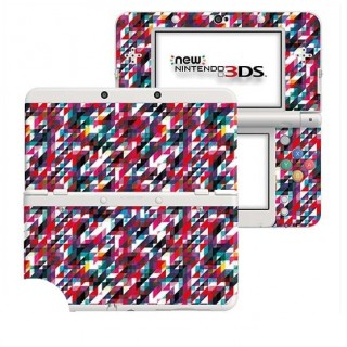 Glitch New Nintendo 3DS Skin