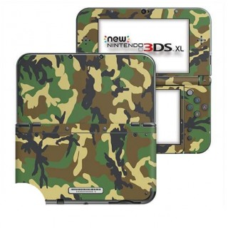 Camouflage New Nintendo 3DS XL Skin