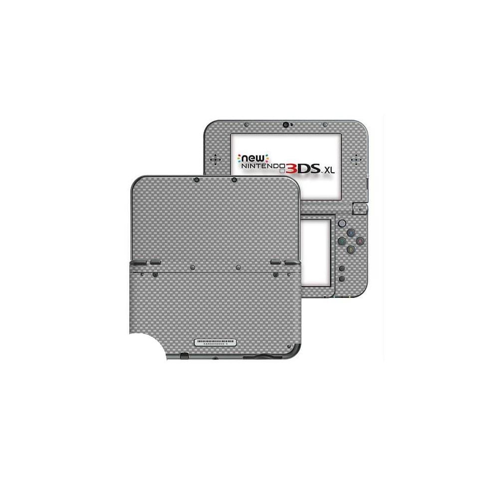 Carbon Grijs New Nintendo 3DS XL Skin