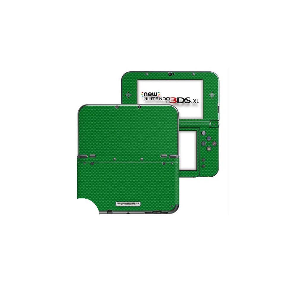 Carbon Groen New Nintendo 3DS XL Skin