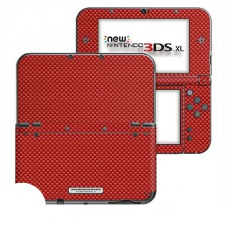 Carbon Rood New Nintendo 3DS XL Skin