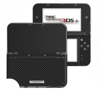 Carbon Zwart New Nintendo 3DS XL Skin