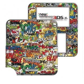 Cartoon SFX New Nintendo 3DS XL Skin