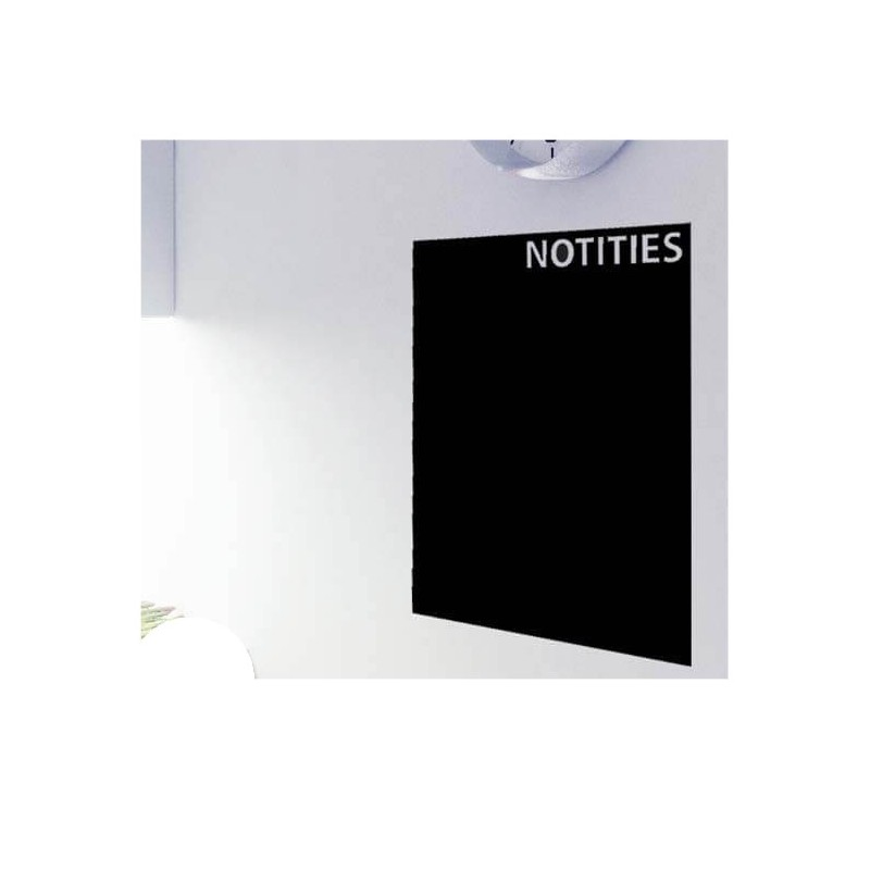 Notities krijtbord sticker basis