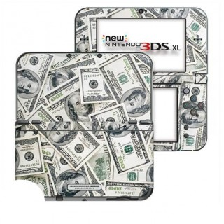 Dollars New Nintendo 3DS XL Skin