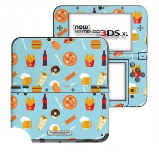 Fastfood New Nintendo 3DS XL Skin
