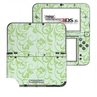 Floral Groen New Nintendo 3DS XL Skin