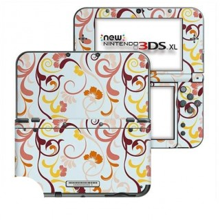 Floral Retro New Nintendo 3DS XL Skin