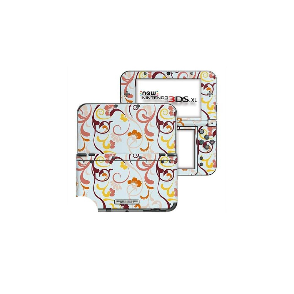 Floral Retro New Nintendo 3DS XL Skin