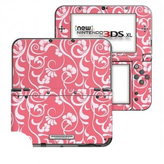 Floral Roze New Nintendo 3DS XL Skin