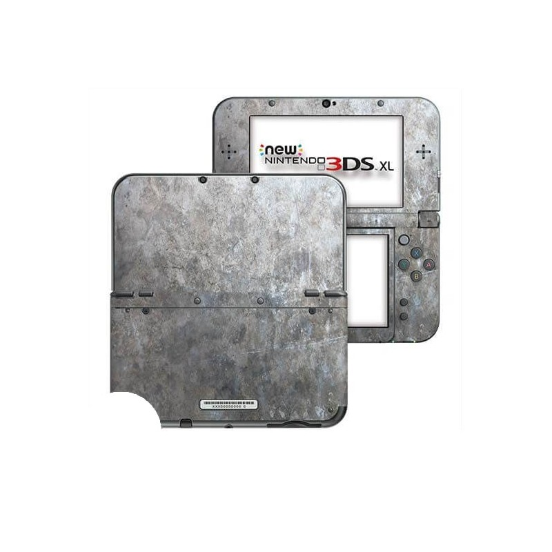 Grunge Metal New Nintendo 3DS XL Skin