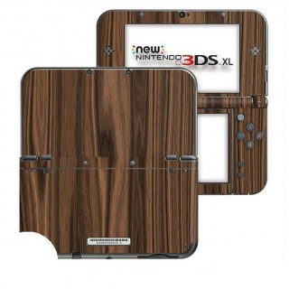 Hout Walnut New Nintendo 3DS XL Skin