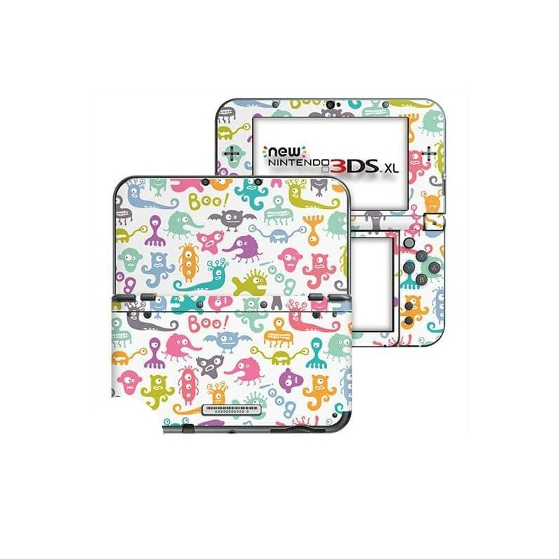 Monsters New Nintendo 3DS XL Skin