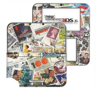 Postzegels New Nintendo 3DS XL Skin