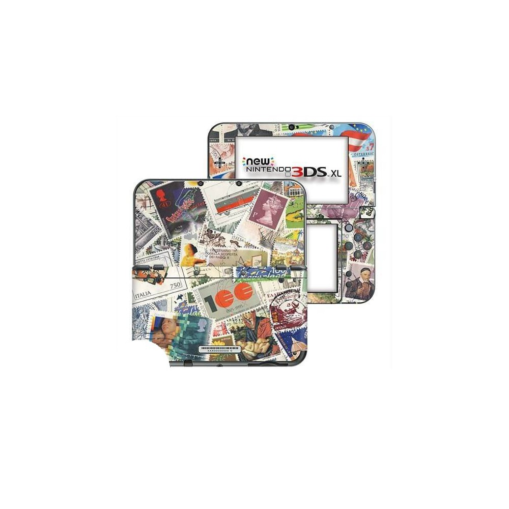 Postzegels New Nintendo 3DS XL Skin