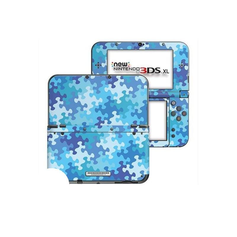 Puzzel Blauw New Nintendo 3DS XL Skin
